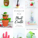 Creative + Fun Plant Crafts projects, Delineate Your Dwelling #plantcrafts