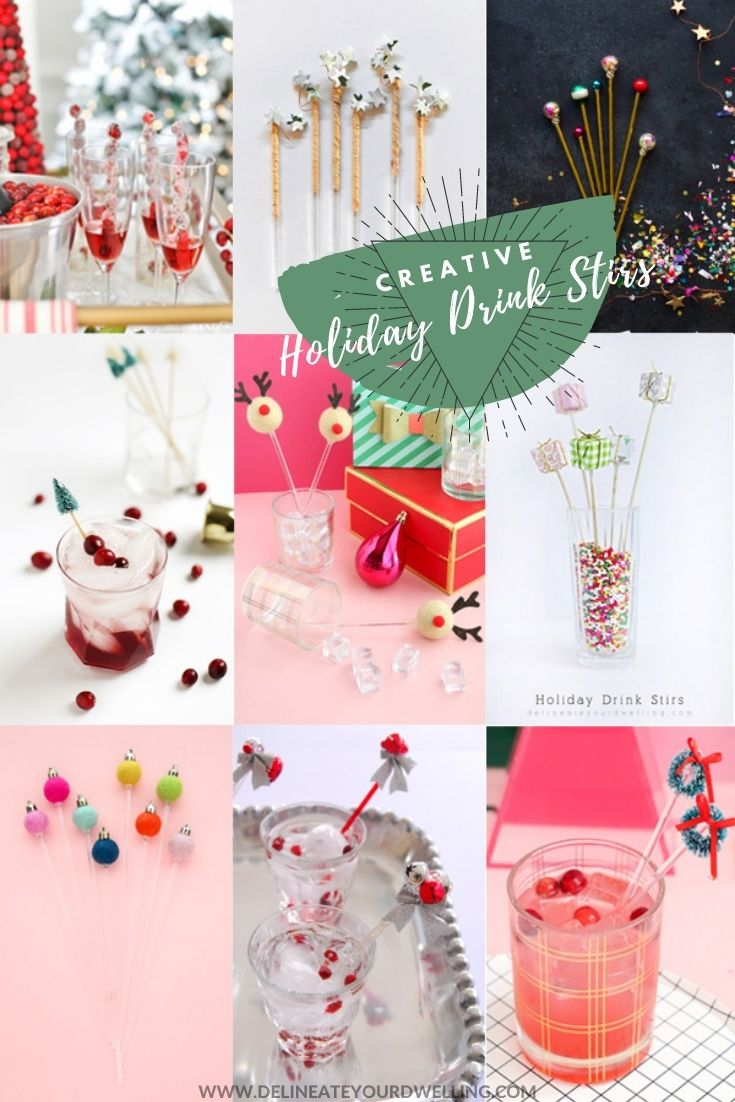 Creative Holiday Drink Stirs