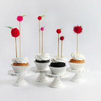DIY Apple Cupcake Toppers