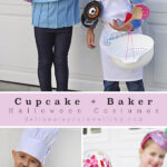 Baker + Cupcake halloween Costumes