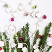 DIY Clay Garland