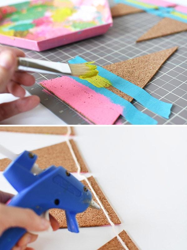 DIY Cork Pennant step-3