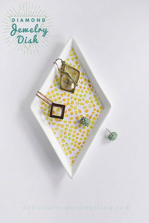 DIY Diamond Jewelry Dish