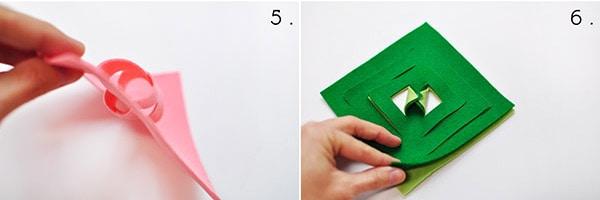 DIY Felt Ornament Steps5,6