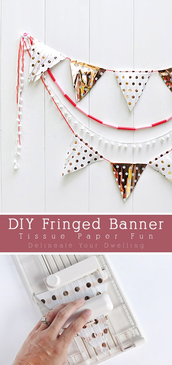 Triangle Fringe Party Banner