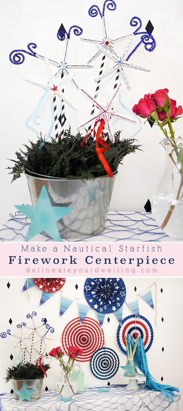 Starfish Firework Display