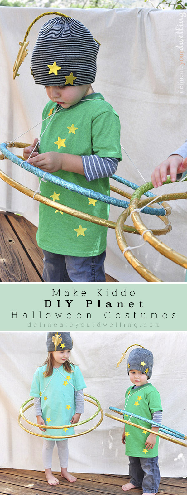 Green Kid Planet Costume