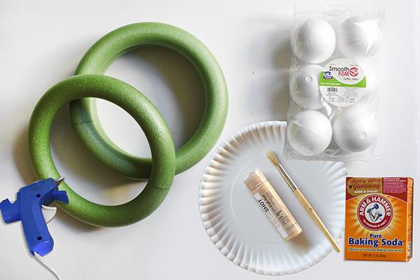DIY Ring Planter supplies