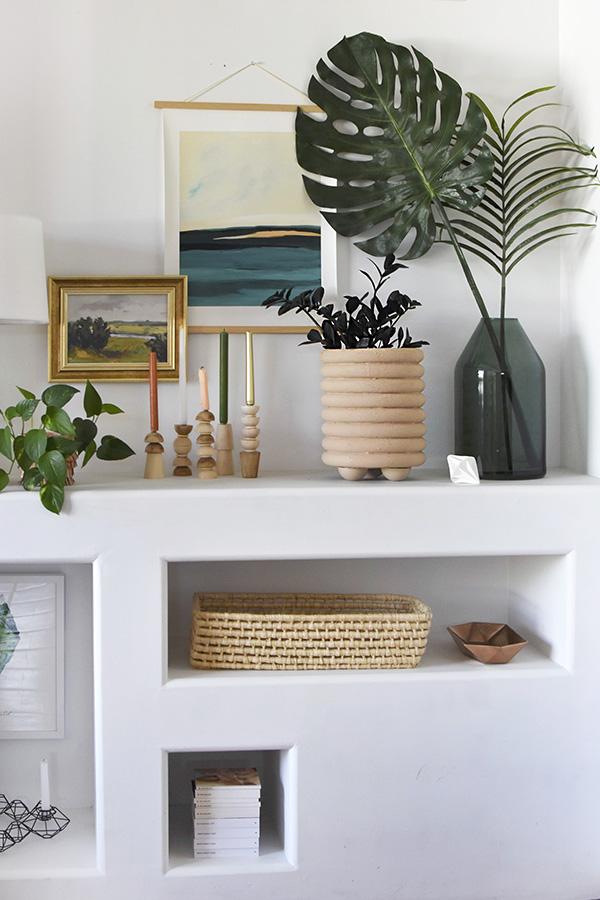 DIY Modern Ring Planter