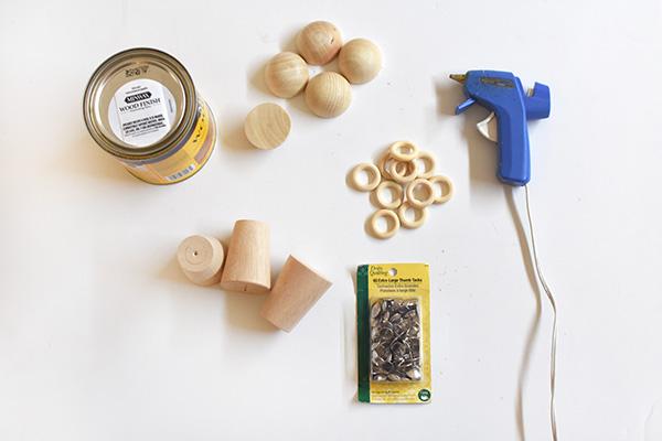 Wooden Candlestick Holder supplies