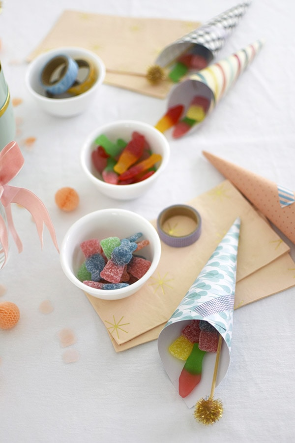 Candy Summer Cones
