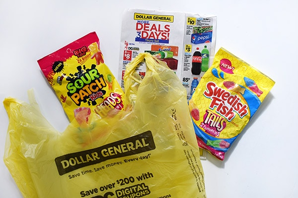 Doller General candy