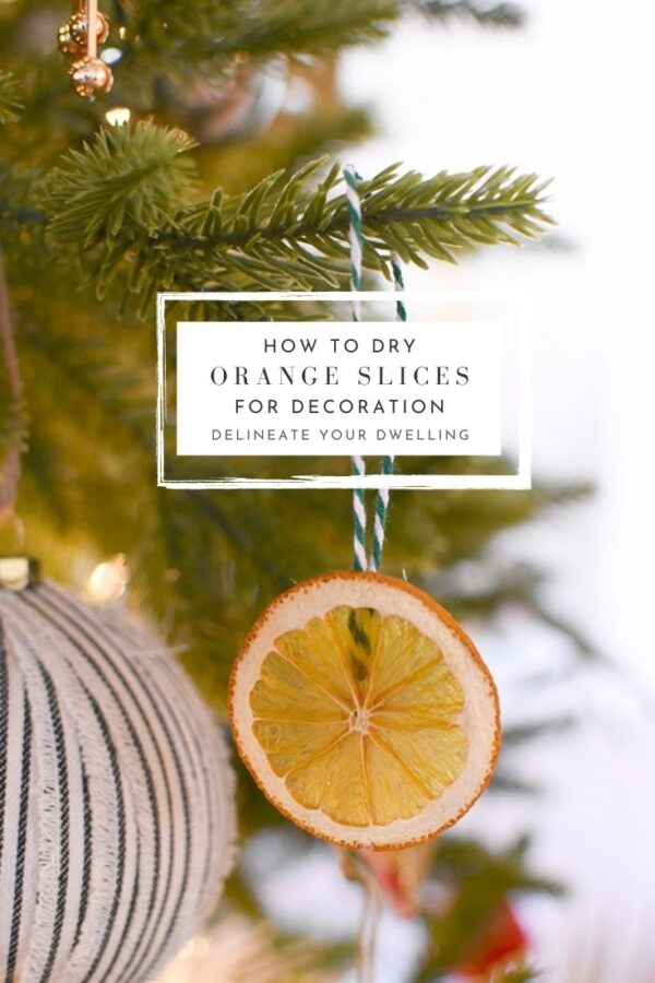 Orange Slice Ornaments
