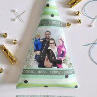 Fabric Newsletter Ornaments