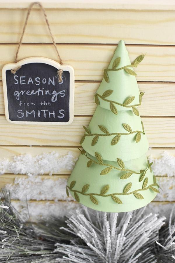Mint Green Tree Sign