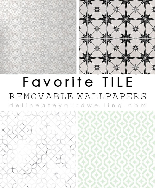 Favorite Tile Removable Cement Wallpapers