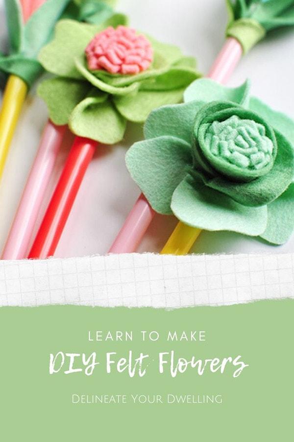 Craft Easy Felt Flowers