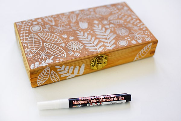 Learn how to make DIY Painted Floral Flower Wooden Boxes : Painted Box.
