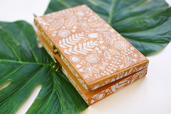 Paint Marker Flower Wooden Boxes. Delineate Your Dwelling #paintedbox #paintedboxes #flowerbox
