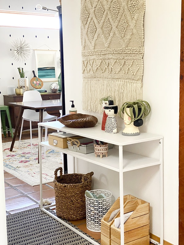 Front Entry Refresh, Purge and organize