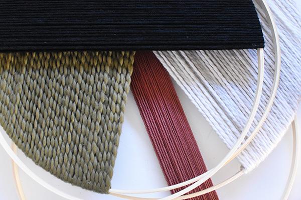 Layered Yarn Decor