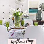Mother's Day Garden Spring Table