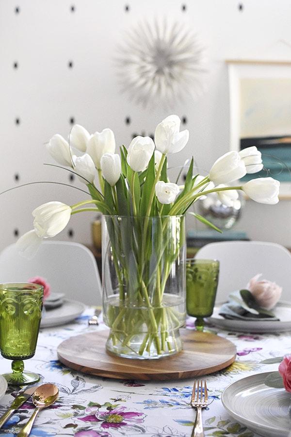 Tulip Garden Centerpiece