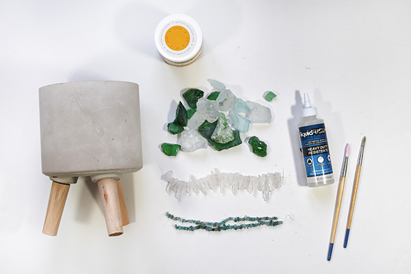 Geode Planter supplies
