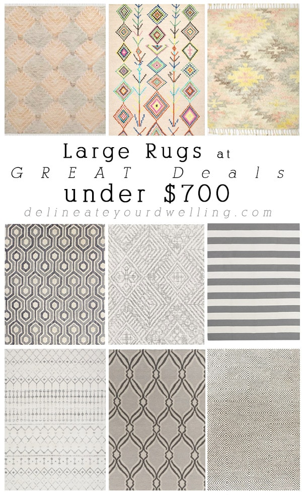 Great Rug Deals under $700