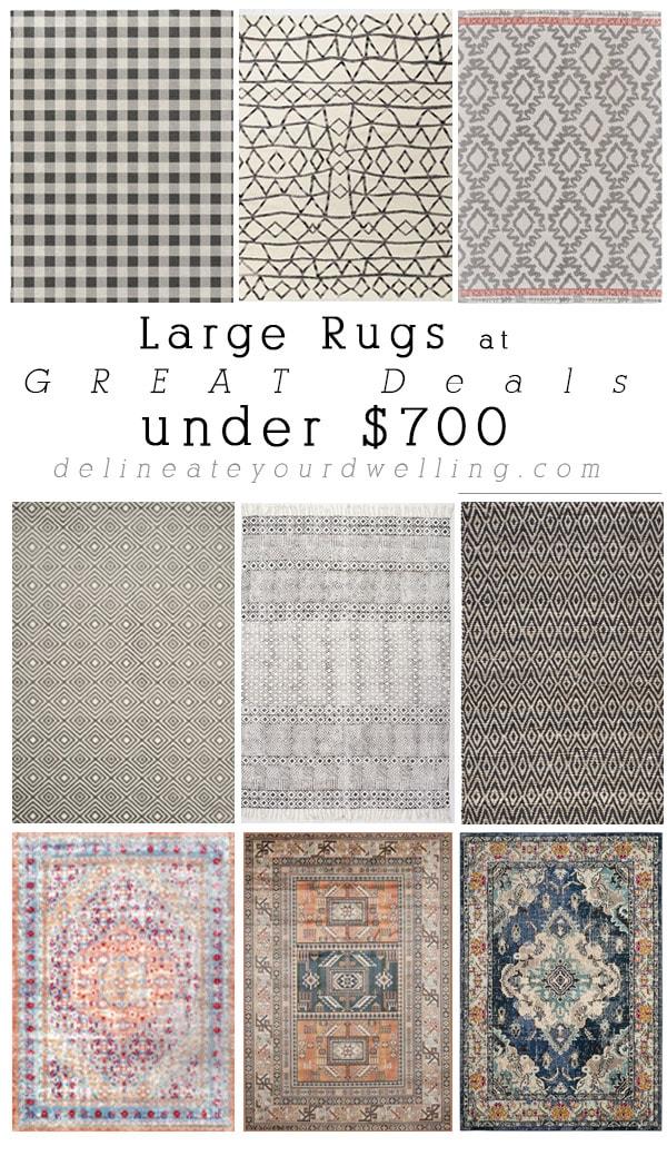 Area Rug Deals under $700