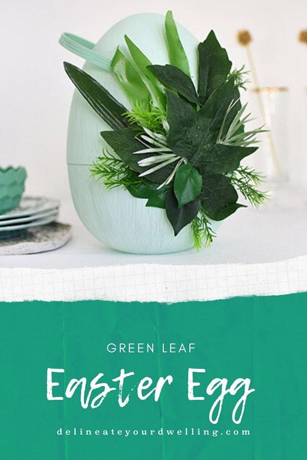 Plant Easter Egg Decor
