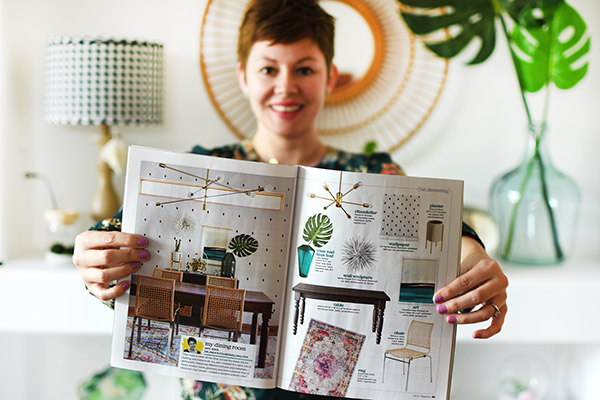 HGTV Magazine Dining Room Feature, Delineate Your Dwelling #HGTVmagazinefeature #magazinefeature