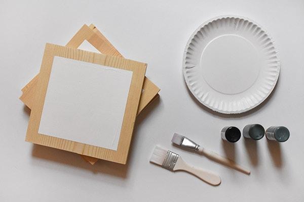 Hallway update - art supplies