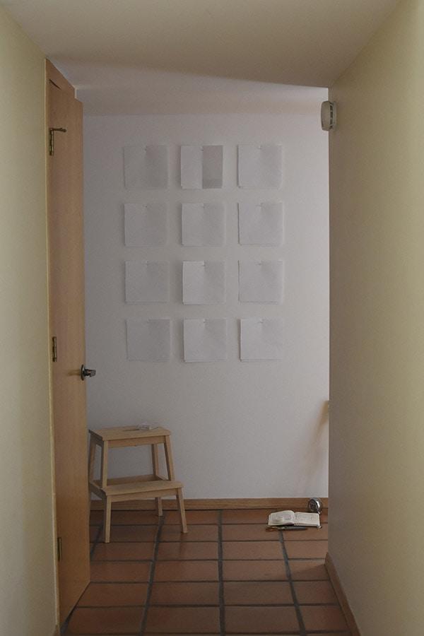 Hallway update - art setup