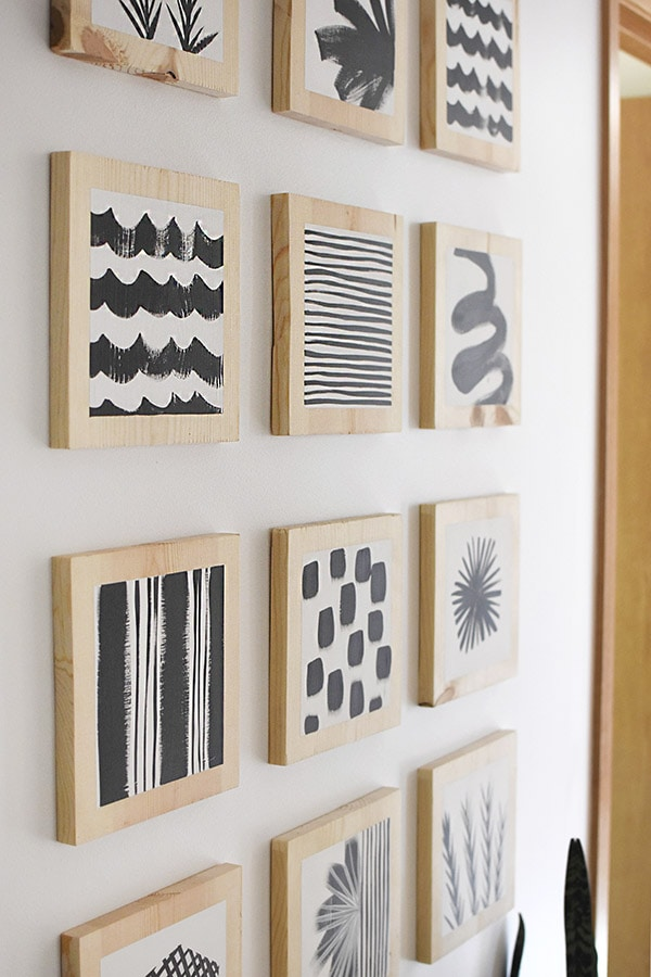 Hallway update - art boards