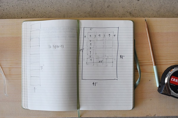 Hallway update - board plan