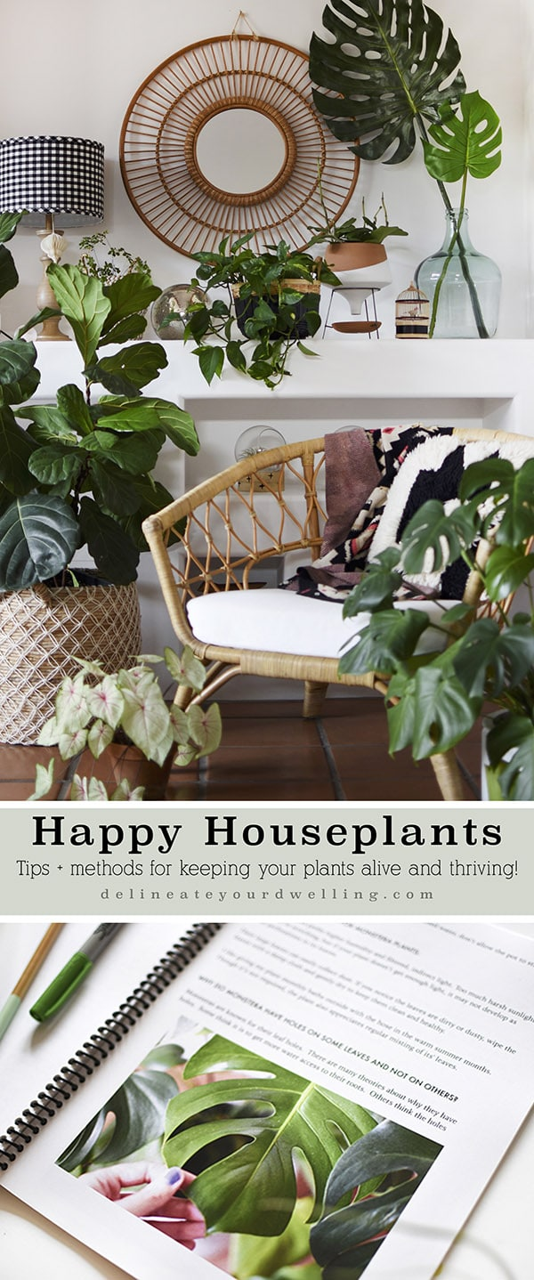 Happy Houseplants ebook Plant Guide