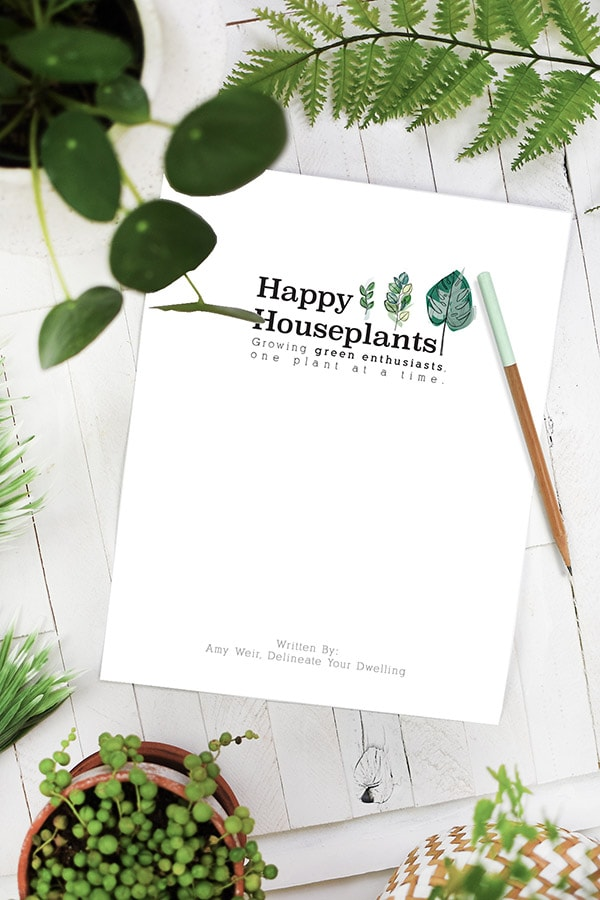 Happy Houseplants ebook guide