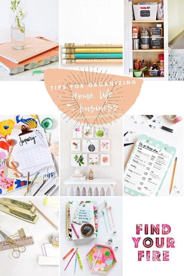 Home, Life + Business Goals