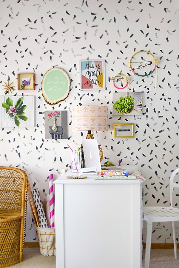 How to create a brushstroke Accent Wall
