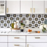 Install Kitchen Wallpaper Backsplash