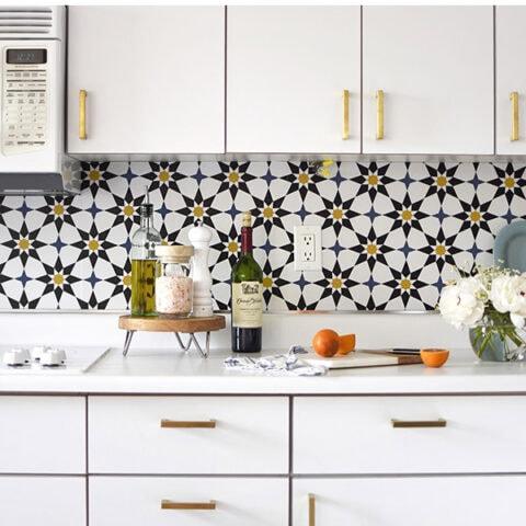 Install Removable Wallpaper Backsplash in Your Kitchen