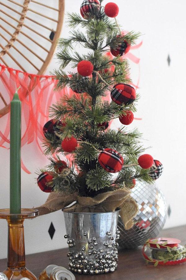 Mini Jingle Bell Christmas Tree