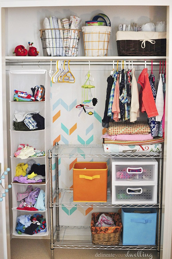 Kid's Shared Closet complete