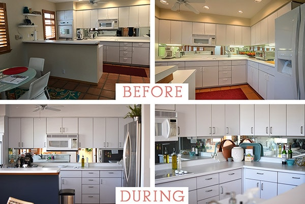How To Install A Removable Wallpaper Backsplash Delineate Your Dwelling