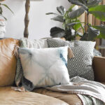 Leather Tassel Pillow
