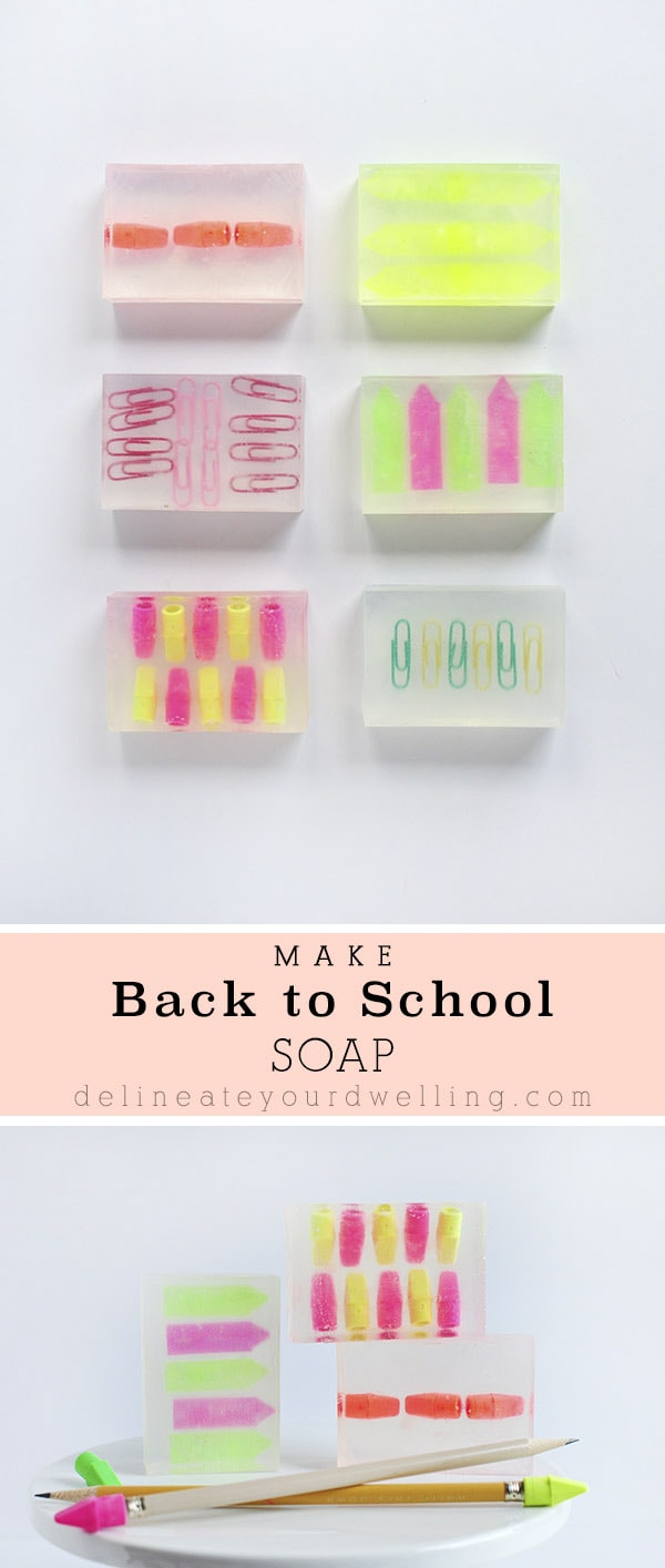 Back to School Soap