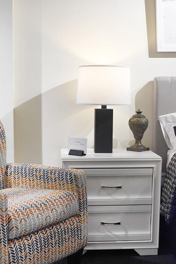 Make a House a Home, White Bedside Table