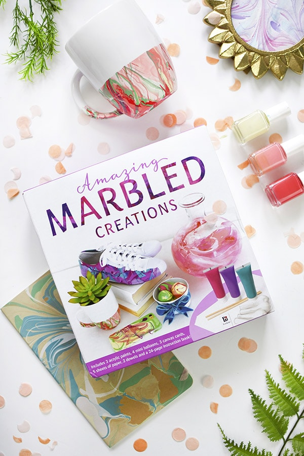 Amazing Marbled Creations book