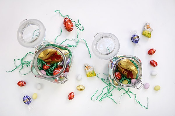 Mason Jar Easter basket step